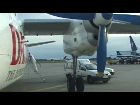 THE SIGHT & THE SOUND 1-5/5 : Flying Dandy AN-24 cockpit documentary from Bratislava to Sofia
