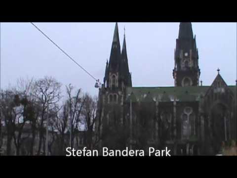 Stefan Bandera & Mykhailo Hrushevsky  (Lviv, Ukraine)
