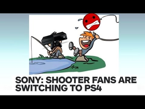 """FPS Players Switching to the PS4 Says """"Marketing Manager""""."""