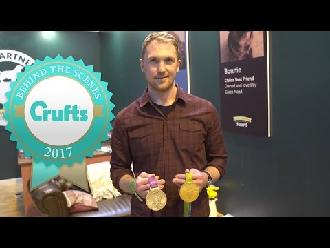 Double Olympic Champion Alex Gregory Judges the Scruffts Final | Crufts 2017