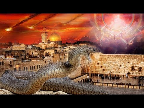 """Jewish End Time Prophecy """"Fulfilled"""" -Serpent Appear from Western Wall During Prayer - Anti-Christ"""