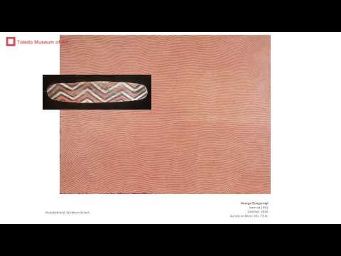 "Wally Caruana Masters Series Lecture: ""Aboriginal Australian Art Today"""