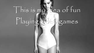 Repeat youtube video Lana Del Rey - Video Games Lyrics