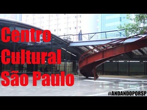 Andando por SP #6 - Centro Cultural São Paulo (Vergueiro)