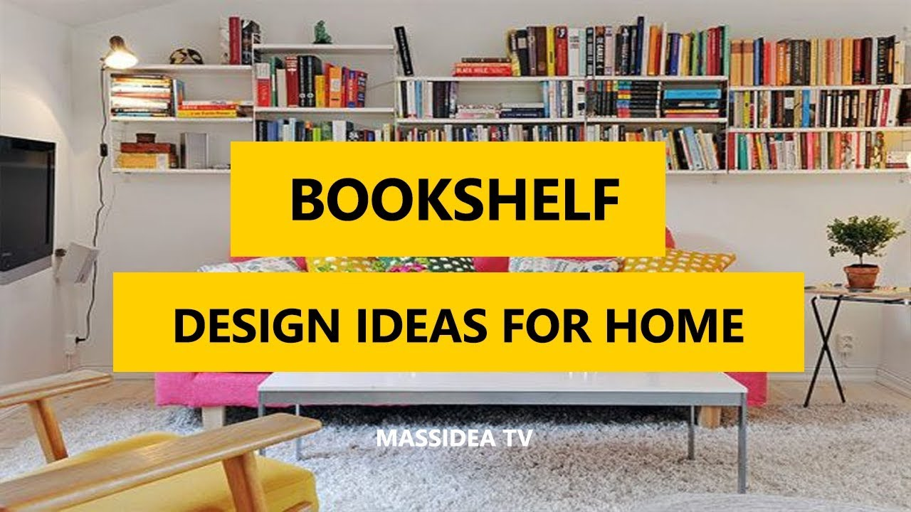 50+ Awesome Bookshelf Design Ideas for Home 2017 - YouTube
