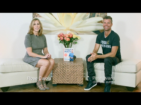 Rose Interviews Chef Pete Evans About 'The Complete Gut Health Cookbook'