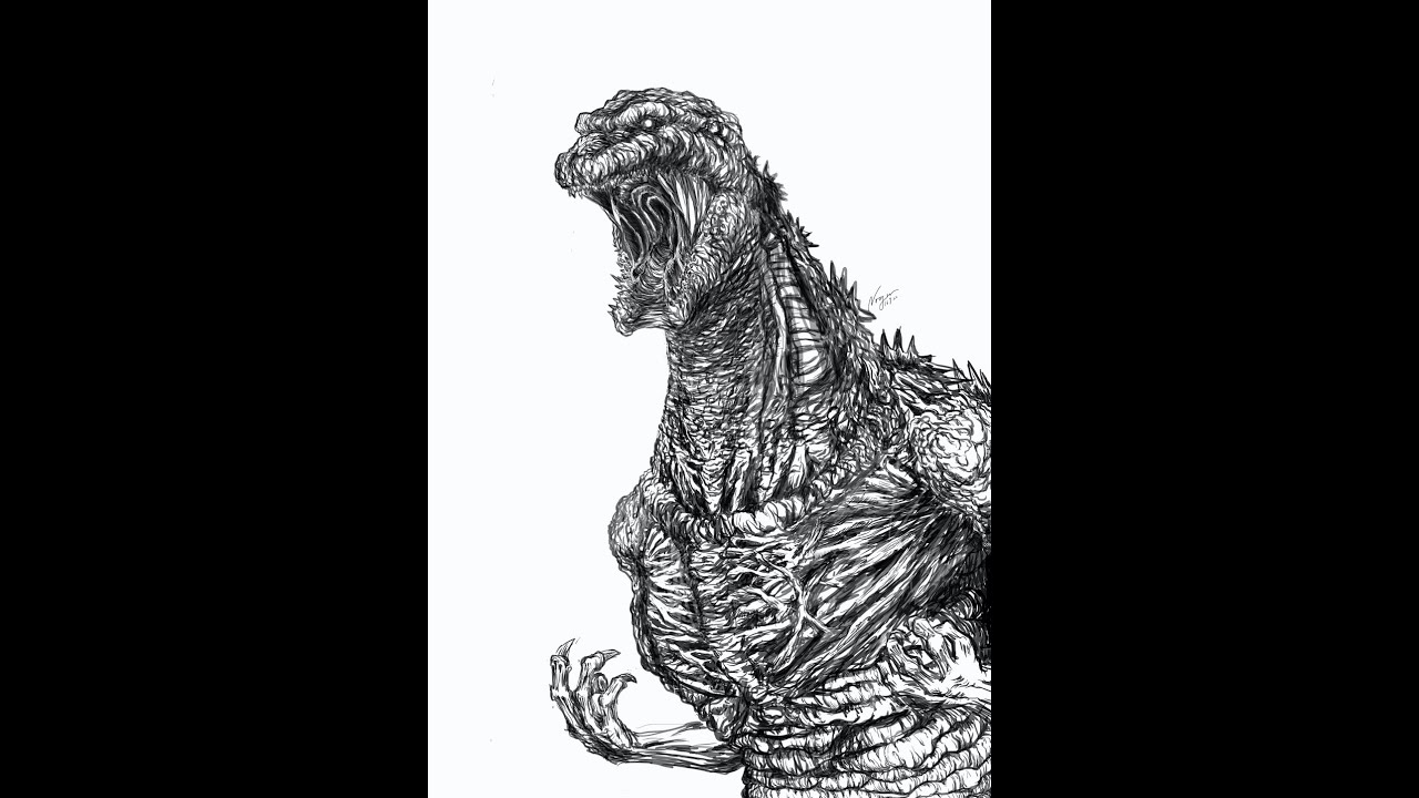 ... Godzilla Coloring Pages Youtube   Photo#17 ...