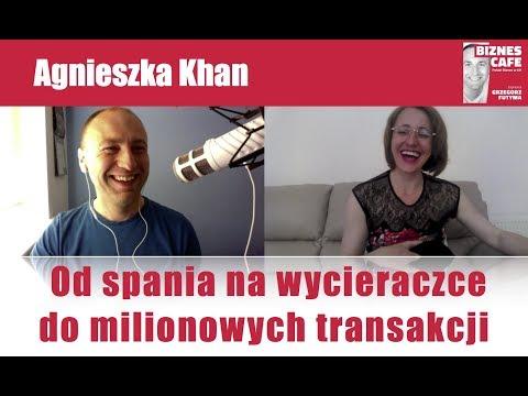 Od spania na wycieraczce do milionowych transakcji – Agnieszka Khan (Agnes Khan)