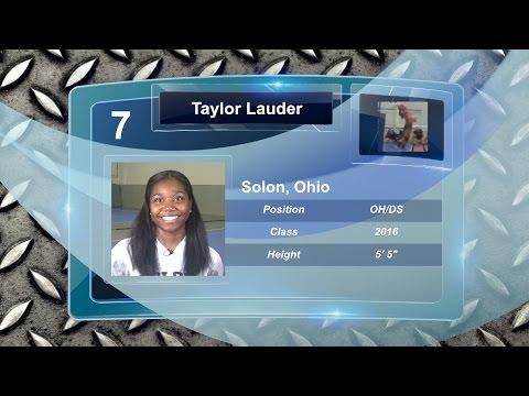 Taylor Lauder - Highlight Video