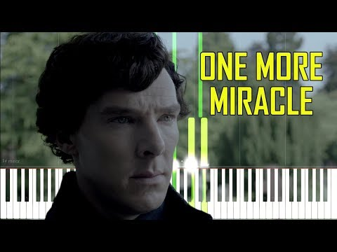 One More Miracle - Sherlock [Synthesia Piano Tutorial]