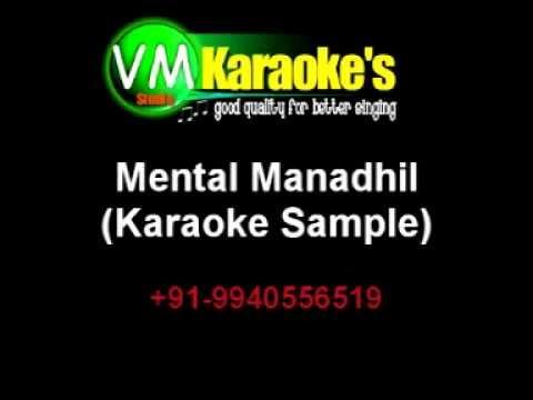 Mental Manadhil Karaoke