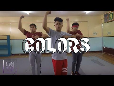 """COLORS"" - JASON DERULO   Kenneth San Jose Choreography"