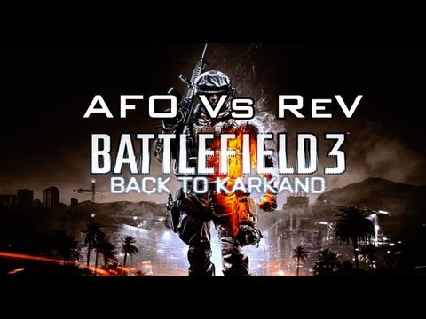 Battlefield 3: Squad Rush Clan Battle (AFO Vs ReVenge Gaming ) Rage Quit!