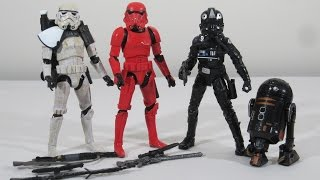 "Star Wars 6"" Black Series Exclusive Imperial Forces 4-pack set"