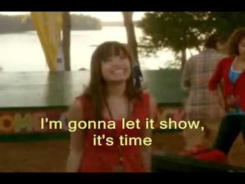 Camp Rock This Is Me *with lyrics*