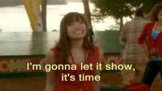 "Camp Rock ""This Is Me"" *with lyrics*"