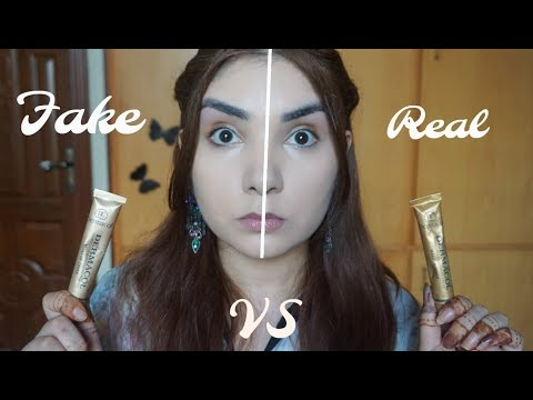 Real VS Fake Dermacol foundation review - 동영상