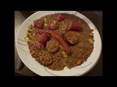 [recette-cookeo]-saucisse-lentille-4/6-personnes