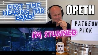 Drum Teacher Reacts: OPETH - Ghost of Perdition (LIVE AT RED ROCKS AMPHITHEATRE)   MARTIN AXENROT