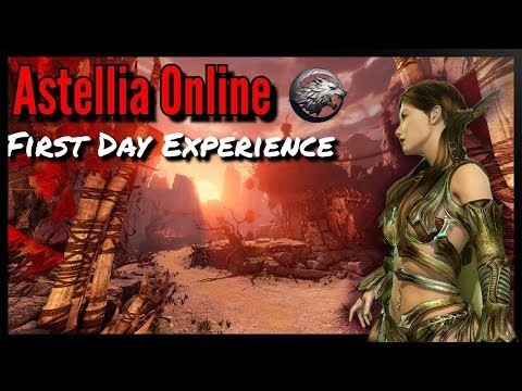 Astellia Online MMORPG First CBT: Stepping into the Day 1 Experience with the NA Version