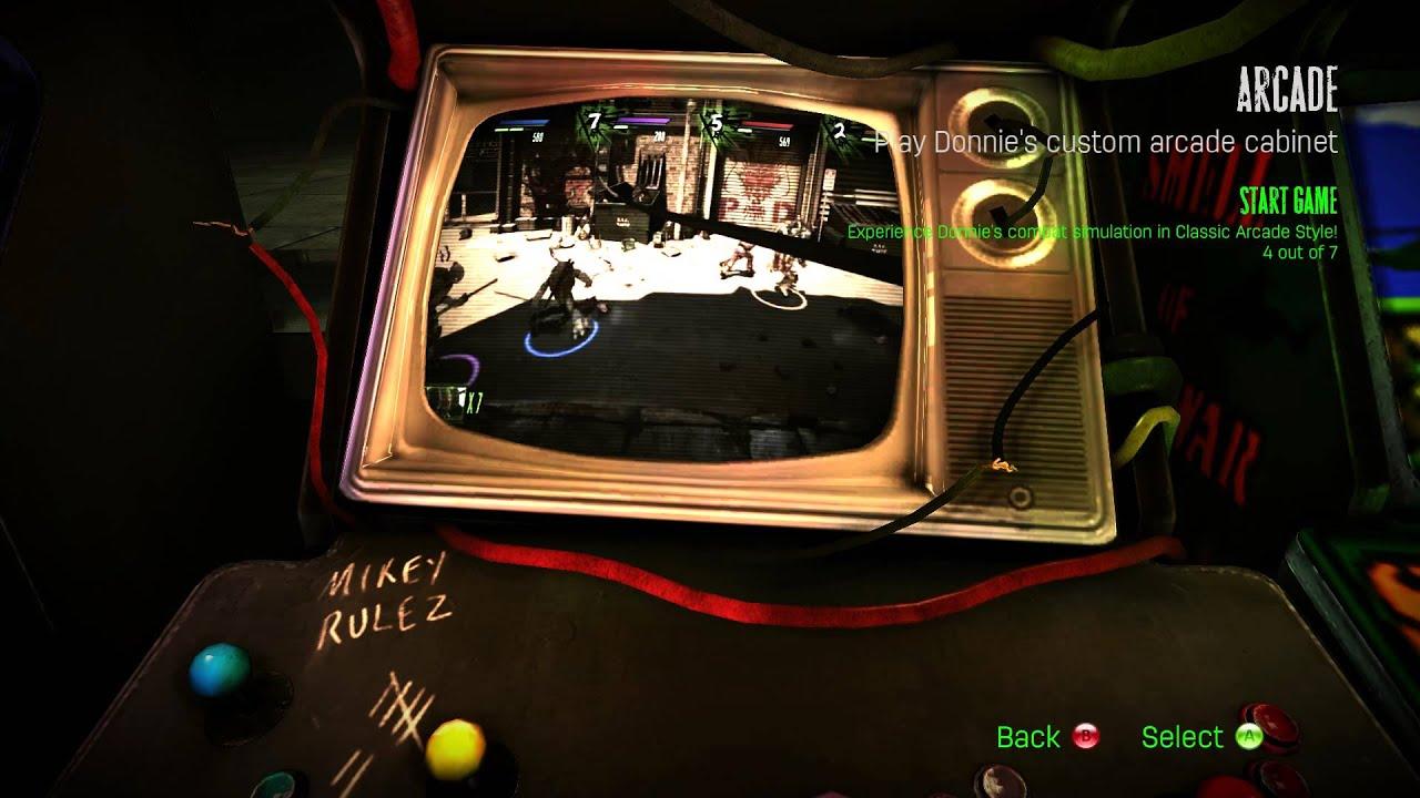 Ninja Turtles Arcade Cabinet Teenage Mutant Ninja Turtles Out Of The Shadows Ost Arcade