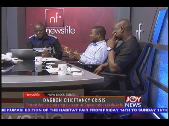 Dagbon Chieftancy Crisis - Newsfile on JoyNews (24-11-18)