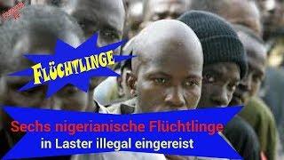 merkel | politik aktuell neue: Sechs nigerianische Flüchtlinge in Laster illegal eingereist