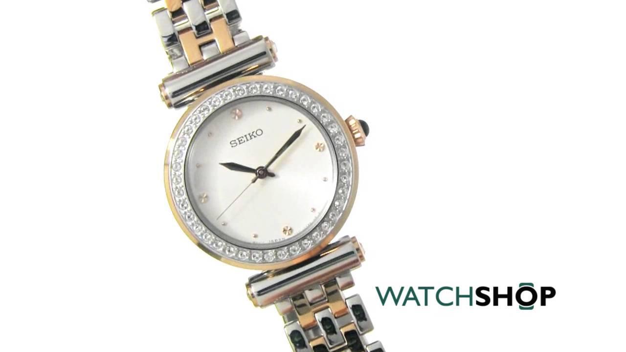 4b2925c52 Seiko Ladies' Watch (SRZ466P1) - YouTube