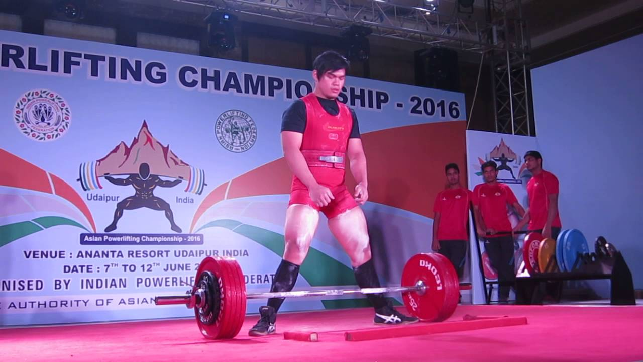 Asian power lifting