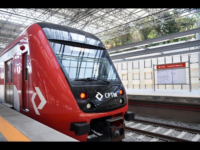 Estação Francisco Morato, CPTM • Infraestrutura Metroferroviária TELAR Engenharia