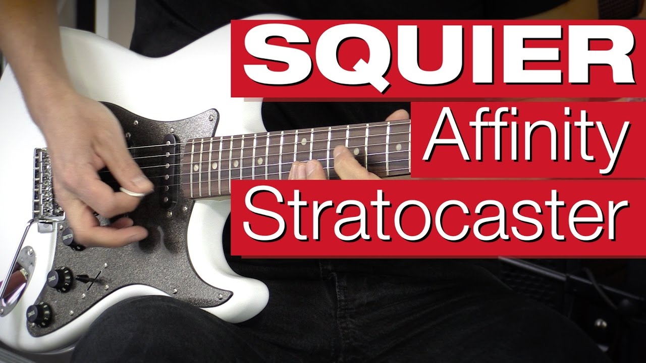 Squier By Fender Affinity Series Stratocaster Hss Rw Ow E Gitarren Strat Wiring Review
