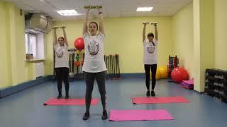 Комплекс упражнений для ровной осанки и укрепления мышц