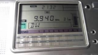 Trans World Radio 9940 kHz. 22.11.2013.