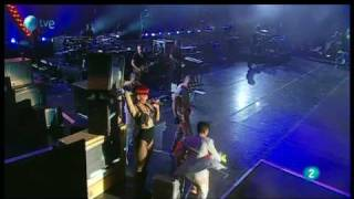 rihanna please don t stop the music rock in rio madrid 2010