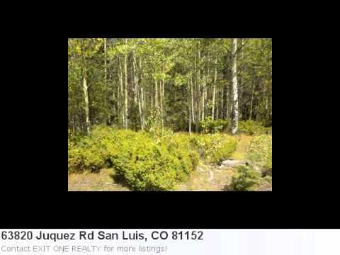 San Luis, Co Real Estate At It's Finest! 5.25 Acre Lot