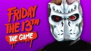JASON X ORIGIN STORY!   Friday The 13th: The Game (ft. H2O Delirious, Gorilla & Dracula)