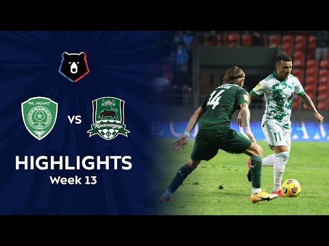 Akhmat Grozny Krasnodar FK Goals And Highlights