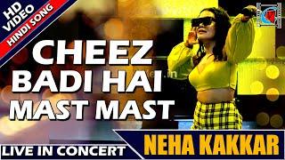 Tu Cheez Badi Hai Mast Mast Lyrics Hindi   New Hindi Song   Coverd By Neha Kakkar   Kolkata