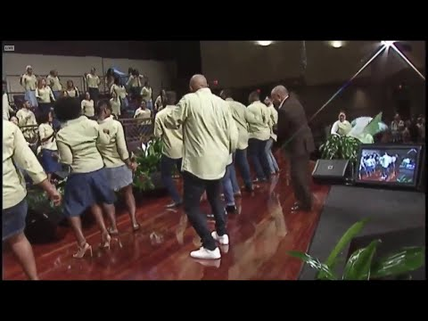 """""""Blessings On Blessings"""" (B.O.B. Bounce at First Baptist) Anthony Brown w/ Young Adult Choir"""