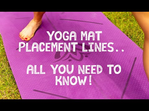 LK Yoga | Yoga mat placement lines, All you need to know!