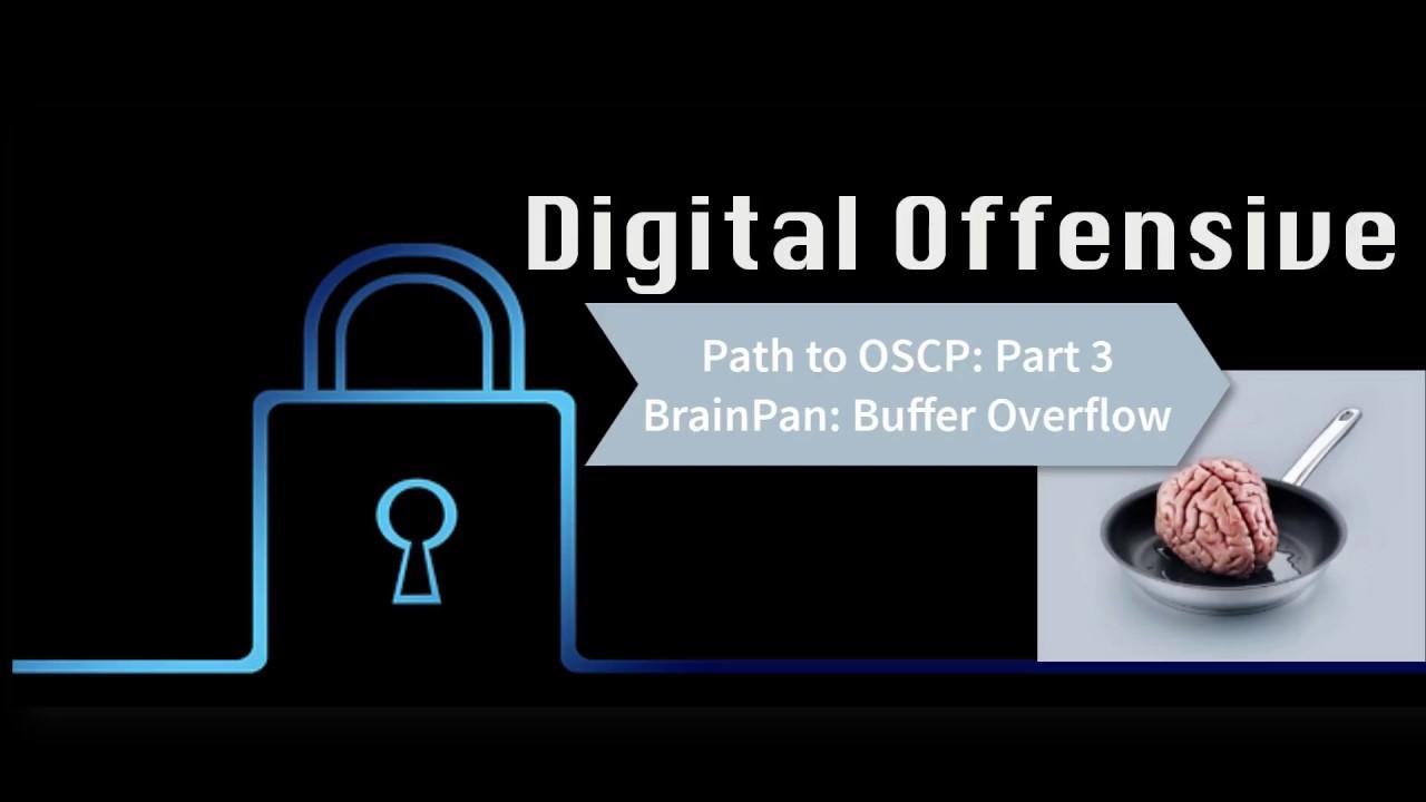 Path to OSCP: Video 3: Part 2: BrainPan: Buffer Overflow