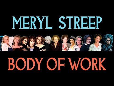 Meryl Streep - Body of Work (Complete)