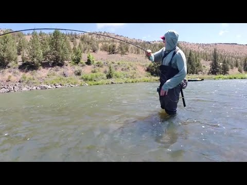 Getting Out-fished In Central Oregon - Fly Fishing For Trout
