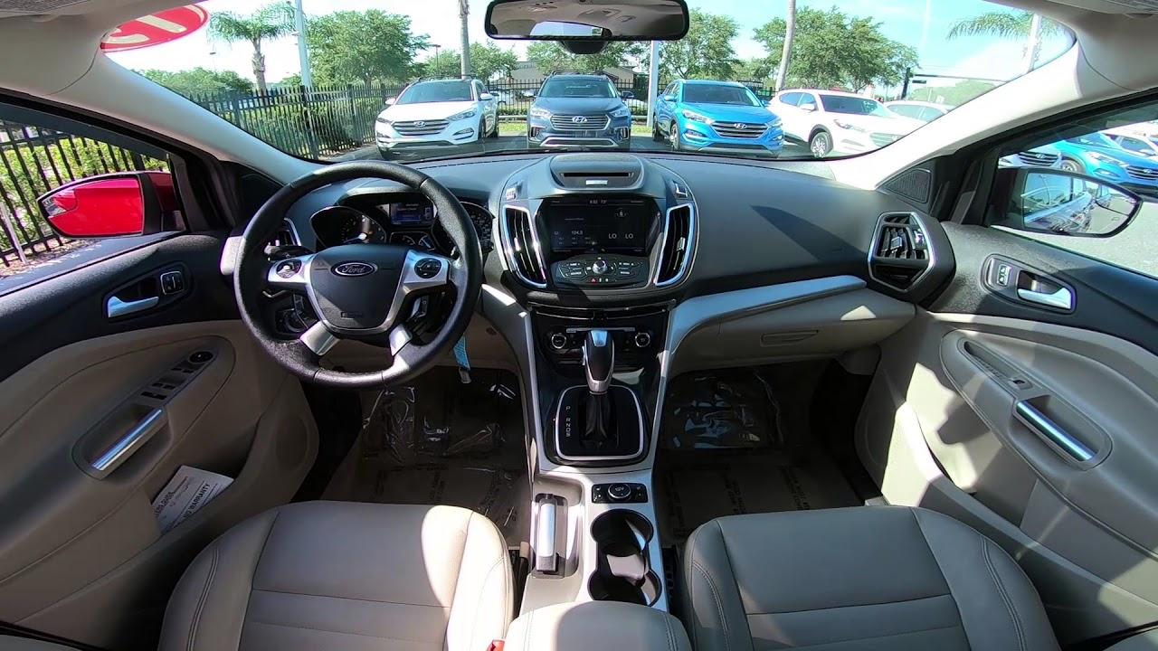 2017 Ford Escape Sel Interior You