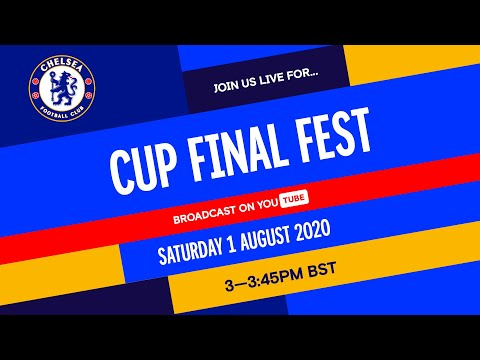 Chelsea v Arsenal | Cup Final Fest hosted by Trevor Nelson feat. Timo Werner \u0026 Matthew McConaughey!