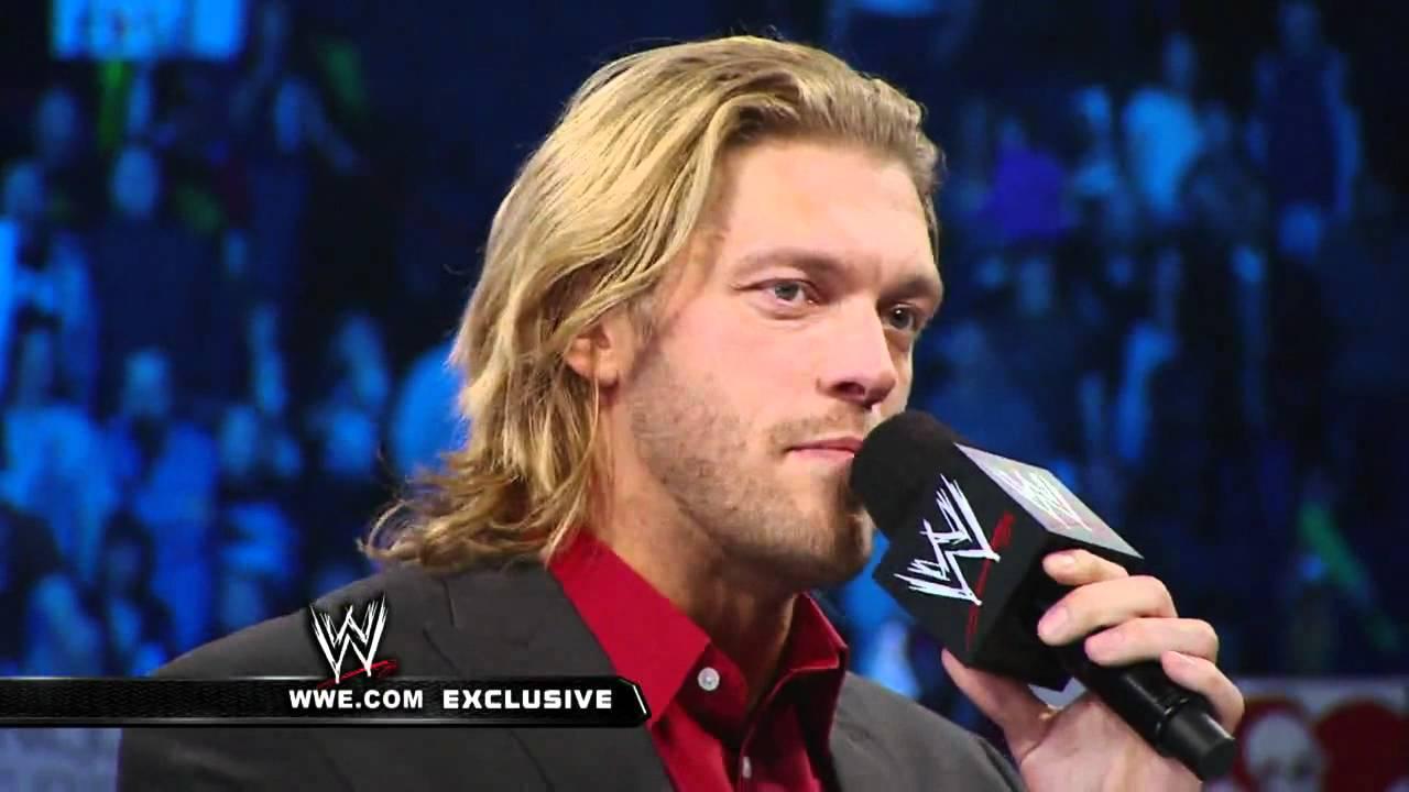 Exclusive WWE Superstars Wish Edge Farewell YouTube