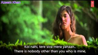 Kabhi jo baadal barse Hindi English Subtitles Full Song jackpot Movie 2013 Exclusive