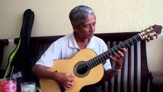 THU VÀNG  Cung Tiến ) on Guitar