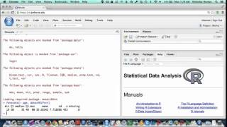 Getting Started with RStudio at Amherst: second steps in R