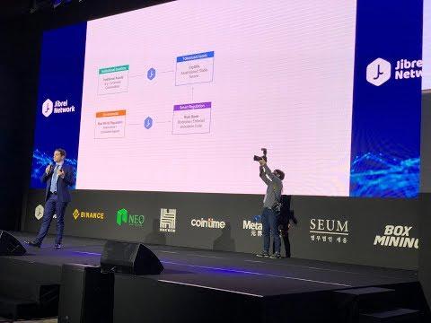 Live: Blockchain Revolution - Biggest Blockchain event in South Korea! (Host: Jibrel Network)